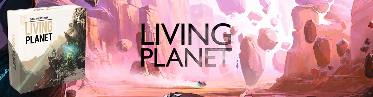 Настолна игра Living Planet