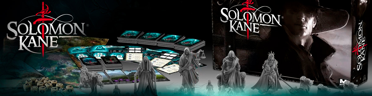 Solomon Kane Board Game Pre-Order