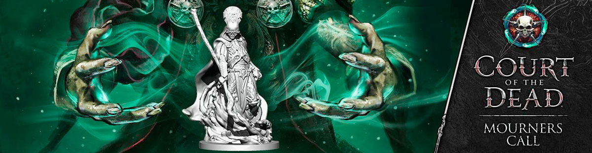 Court of the Dead: Mourners Call Board Game Pre-order
