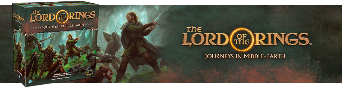 Lord of the Rings: Journeys in Middle-Earth PRE-ORDER