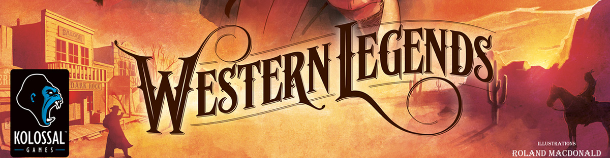 Western Legends Boadr Game