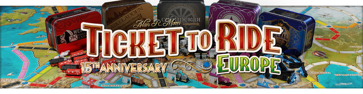 Ticket to Ride: Europe 15th Anniversary Edition