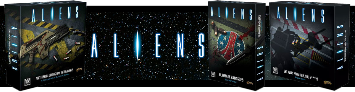 Настолна игра Aliens Board Game and Expansions