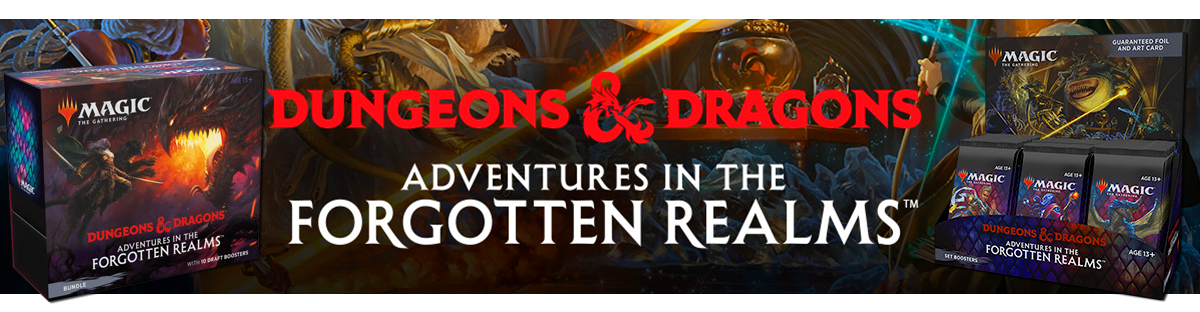 Magic: The Gathering - Dungeons & Dragons - Adventures in the Forgotten Realms