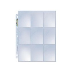 9 Pocket Page Ultra Pro Silver 11-holes in Binders & portfolios
