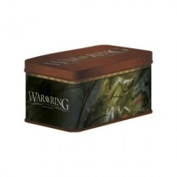 War of the Ring Sleeves and Deck box - метална кутия и протектори за WotR