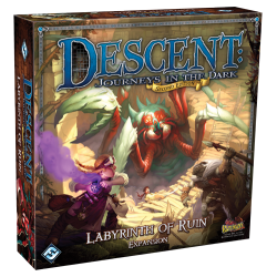 Descent: Journeys in the Dark 2nd Edition - Expansion - Labyrinth of Ruin