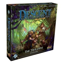 Descent: Journeys in the Dark 2nd Edition - Expansion - The Trollfens