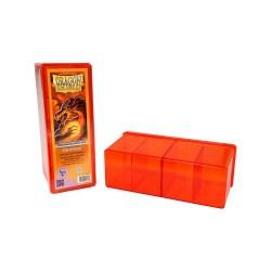 Dragon Shield Four Compartment box (оранжева) - кутия за карти в Кутии за карти