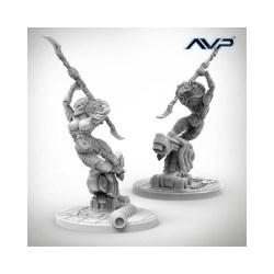 Alien vs Predator - AvP Female Predator UniCast Edition в AvP: The Hunt Begins