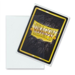 Dragon Shield Standard Sleeves - Clear - протектори за карти (класически прозрачни) 100 бр. в LCG, 63.5x88 мм)