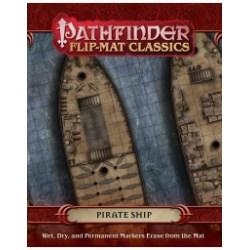 Pathfinder Flip-Mat Classics: Pirate Ship - терени за игра за D&D и други ролеви игри в D&D и други RPG / D&D / Pathfinder терен