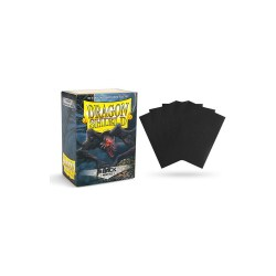 Dragon Shield Standard Sleeves - Matte Black - матови протектори за карти (черни) 100 бр.
