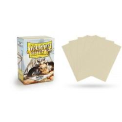 Dragon Shield Standard Sleeves - Matte Ivory - матови протектори за карти ( цвят слонова кост) 100 бр. в LCG, 63.5x88 мм)