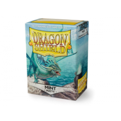 Dragon Shield Standard Sleeves - Matte Mint - матови протектори за карти (тюркоазени) 100 бр. в LCG, 63.5x88 мм)