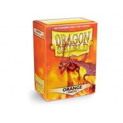 Dragon Shield Standard Sleeves - Matte Orange - матови протектори за карти (оранжеви) 100 бр. в LCG, 63.5x88 мм)