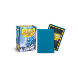 Dragon Shield Standard Sleeves - Matte Petrol - матови протектори за карти (синьо-зелени) 100 бр. в LCG, 63.5x88 мм)