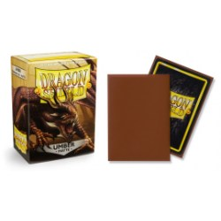 Dragon Shield Standard Sleeves - Matte Umber - матови протектори за карти (кафяви) 100 бр. в LCG, 63.5x88 мм)