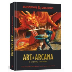 Dungeons and Dragons Art and Arcana: A Visual History в D&D и други RPG / D&D карти и аксесоари
