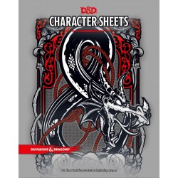 Dungeons & Dragons RPG 5th Edition: Character Sheets в D&D и други RPG / D&D карти и аксесоари