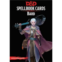 Dungeons & Dragons RPG 5th Edition: Spellbook Cards (2017) - Bard Spell Deck (128 Cards) in D&D Cards & Accessories
