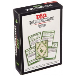 Dungeons & Dragons RPG 5th Edition: Spellbook Cards (2017) - Druid Spell Deck (131 Cards) в D&D и други RPG / D&D карти и аксесоари