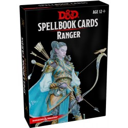 Dungeons & Dragons RPG 5th Edition: Spellbook Cards - Ranger Spell Deck (46 Cards) в D&D и други RPG / D&D карти и аксесоари