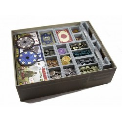 FS-SCY Insert compatible with Scythe and the Invaders from Afar expansion in Box organizers