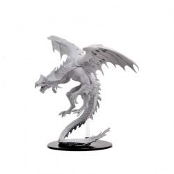 Pathfinder Deep Cuts Unpainted Miniatures: Gargantuan White Dragon в D&D и други RPG / D&D Миниатюри