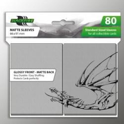 Протектори за карти 63.5x88мм Blackfire Standard Sleeves - Clear Sleeves (80 броя, прозрачни) в LCG, 63.5x88 мм)