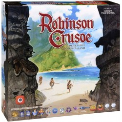 Robinson Crusoe: Adventure on the Cursed Island (2nd print, 2012) - кооперативна настолна игра