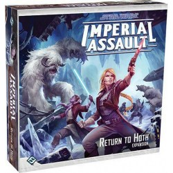 Star Wars: Imperial Assault - Return to Hoth Expansion - разширение за настолна игра Star Wars: Imperial Assault