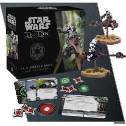 Star Wars: Legion - 74-Z Speeder Bikes Unit Expansion in Star Wars: Legion Miniatures Game