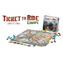 Ticket to Ride: Europe (2005) - фамилна настолна игра