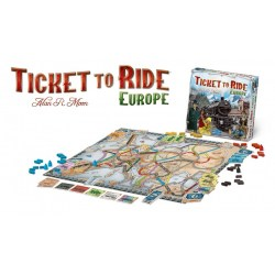 Ticket to Ride: Europe (2005) - фамилна настолна игра