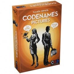Codenames: Pictures (Кодови имена: Картини, английско издание, 2016) - парти настолна игра