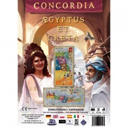 Concordia: Aegyptus / Creta Expansion Board Game