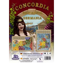 Concordia: Britannia / Germania Expansion Board Game