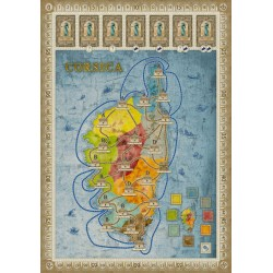 Concordia: Gallia / Corsica Expansion Board Game