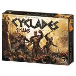 Cyclades: Titans Expansion (2014)  - разширение за настолна игра