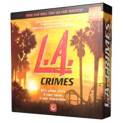 Detective: A Modern Crime Board Game – L.A. Crimes Expansion (2019) Board Game
