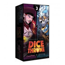Dice Throne: Season Two – Cursed Pirate v. Artificer (2018) Board Game