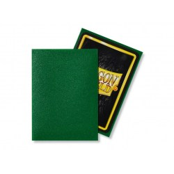 Dragon Shield Standard Sleeves - Emerald - матови протектори за карти (изумруд) 100 бр. в LCG, 63.5x88 мм)
