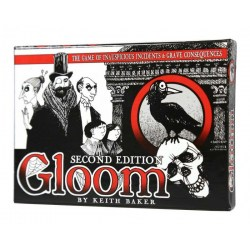 Gloom 2nd Edition Board Game