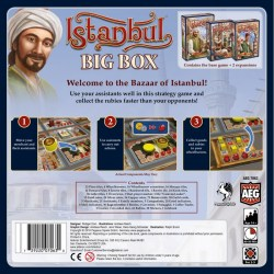 Istanbul: Big Box (2018) Board Game