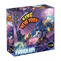 King of New York/Tokyo: Power Up! Board Game