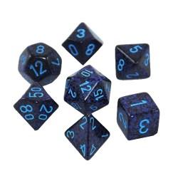 Комплект D&D зарове: Chessex Speckled Cobalt в Зарове за игри