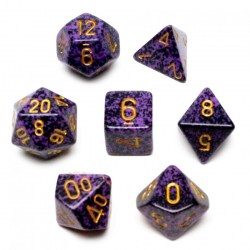 Polyhedral 7-Die Set: Chessex Speckled Hurricane in Dice sets