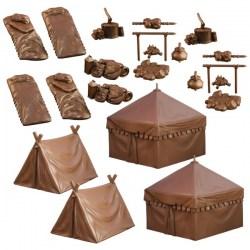 Mantic Games: Terrain Crate - Campsite in D&D Miniatures