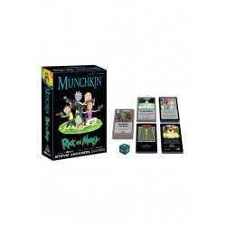 Munchkin: Rick and Morty (2017) Board Game